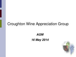 Croughton Wine Appreciation Group