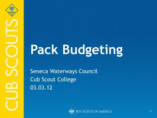 Pack Budgeting