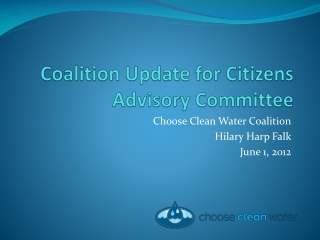 The Clean Water Act
