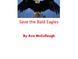 Save the Bald Eagles