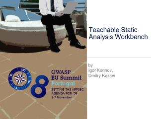 Teachable Static Analysis Workbench