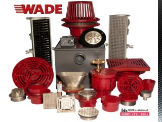 WADE is a Division  of  Bibby-Ste-Croix Complete Line of Commercial Drainage Products
