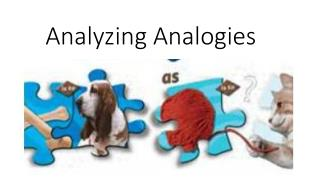 Analyzing Analogies