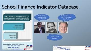 School Finance Indicator Database
