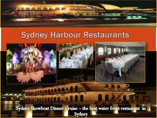 Sydney Harbour Restaurants