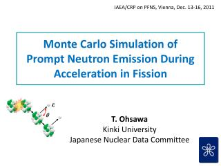 Monte Carlo Simulation of Prompt  Neutron  Emission  During Acceleration in Fission