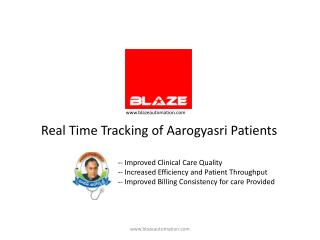 Real Time Tracking of Aarogyasri Patients