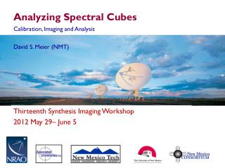 Analyzing Spectral Cubes