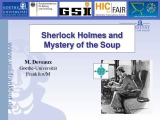 Sherlock Holmes  and Mystery of the Soup