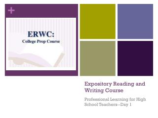 Expository Reading and Writing Course