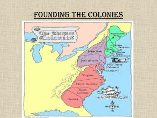 Founding the Colonies