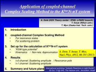 Application of coupled-channel  Complex  Scaling Method to the  K bar N -πY  system