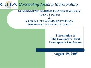 Connecting Arizona to the Future