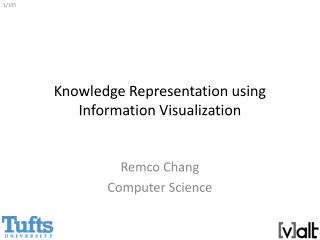 Knowledge Representation using Information Visualization