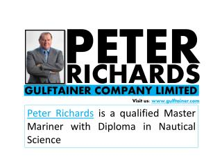 Peter Richards Gulftainer Company Limited