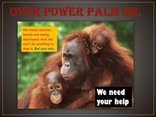 Over Power Palm Oil