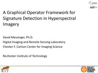 A Graphical Operator Framework for Signature Detection in  Hyperspectral  Imagery