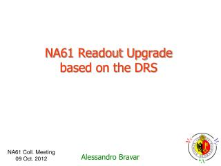 NA61 Readout Upgrade based on the DRS