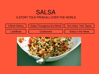 SALSA  A STORY TOLD FROM ALL OVER THE WORLD