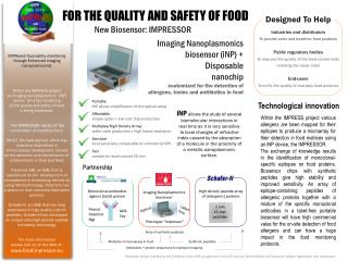 Industries and distributors To p rovide safer and healthier food products