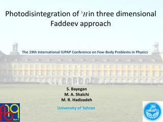 Photodisintegration of     in three dimensional  Faddeev  approach