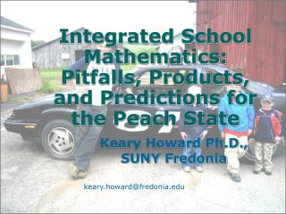 Integrated School Mathematics: Pitfalls, Products, and Predictions for the Peach State