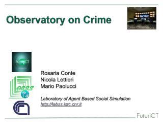 Observatory on Crime