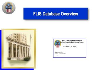FLIS Database Overview