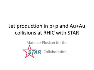 Jet production in  p+p  and  Au+Au  collisions at RHIC with STAR