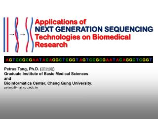 Applications of NEXT GENERATION SEQUENCING  Technologies on Biomedical Research