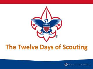 The Twelve Days of Scouting