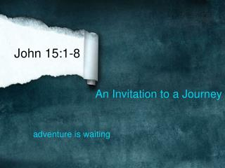 An Invitation to a Journey