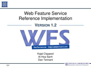 Web Feature Service Reference Implementation