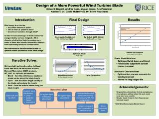 Design of a More Powerful Wind Turbine Blade