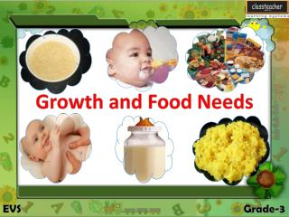 Growth and Food Needs