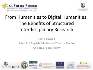 From Humanities to Digital Humanities: The Benefits of Structured Interdisciplinary Research