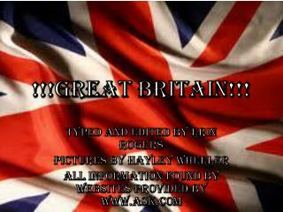 !!!Great Britain!!!