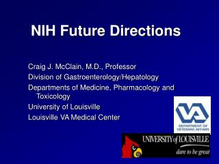 NIH Future Directions