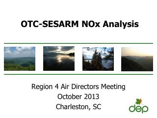 OTC-SESARM  NOx  Analysis