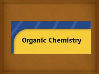 Organic chemistry  is the study of  carbon-containing compounds .