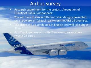 Airbus survey