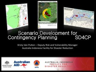 Scenario Development for Contingency Planning           SD4CP