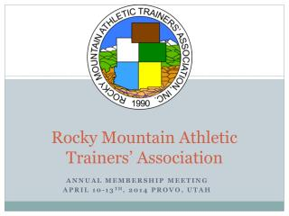 Rocky Mountain Athletic Trainers' Association