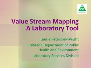Value Stream Mapping A Laboratory Tool