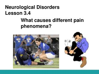 Neurological Disorders Lesson 3.4