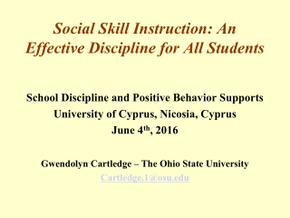 THE EXPECTED AND ACTUAL POSTSCHOOL OUTCOMES FOR STUDENTS WITH LEARNING DISABILITIES IN THE STATE OF OHIO ONE YEAR AFTER