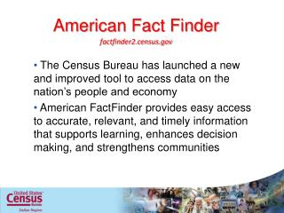American Fact Finder
