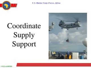 Coordinate Supply Support