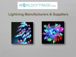 WorldOfTrade Led Lightnings