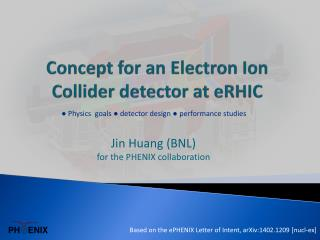 Concept for an Electron Ion Collider detector at eRHIC